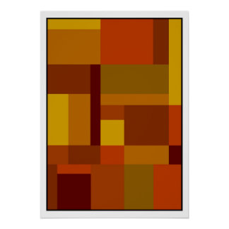 #385 abstrato pôster
