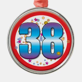38th Aniversário v2 Ornamento