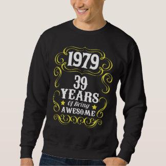 39th Camisa do aniversário para homens/mulheres