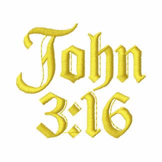 3:16 de John Camiseta Bordada Polo