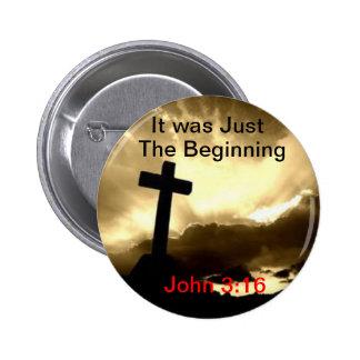 3:16 de John era apenas a páscoa transversal de pe Boton