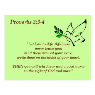3:3 dos provérbio - cartão de memória de 4