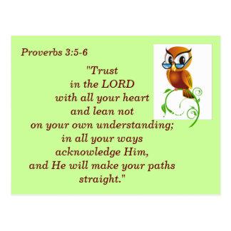 3:5 dos provérbio - cartão de memória de 6