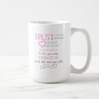 3:5 dos provérbio da caneca de café do verso da