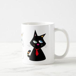 3-CATS CANECA DE CAFÉ