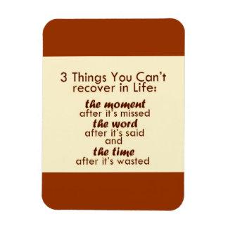 3 coisas que você não pode recuperar foto com ímã retangular