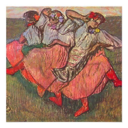3 dançarinos do russo desgaseificam perto, convite