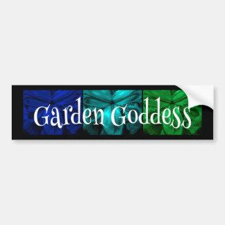 """3 íris: Do """"cores tropicais da ilha da deusa Adesivo Para Carro"""