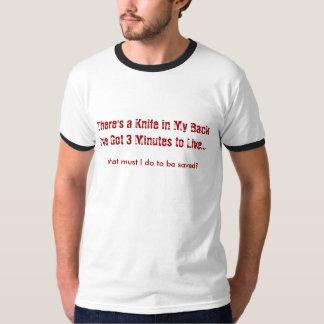 3 minutos a viver camiseta