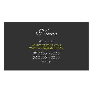 3 modernos e elegantes profissionais cartão de visita
