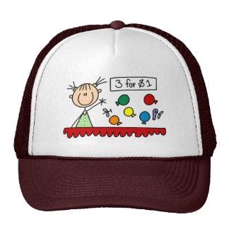 3 para a figura justa chapéu da vara $1 boné