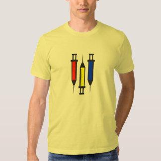 3 seringas preliminares t-shirt