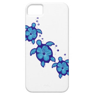 3 tartarugas azuis de Honu Capa Para iPhone 5