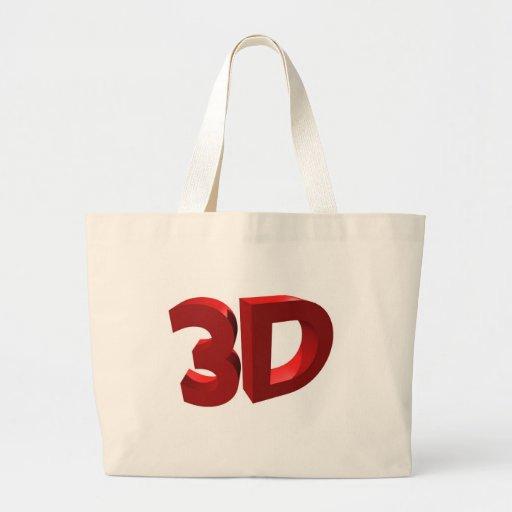 3D BOLSAS DE LONA
