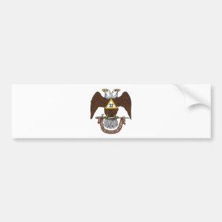 3ò Rito escocês Brown Eagle do grau Adesivo Para Carro