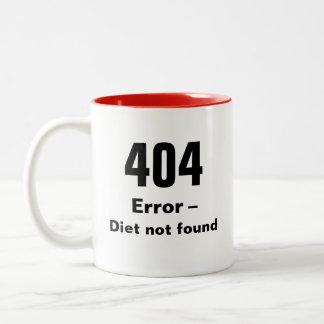 404 erro - caneca não encontrada da dieta