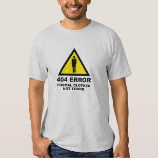 404 roupa formais do erro não encontradas camisetas