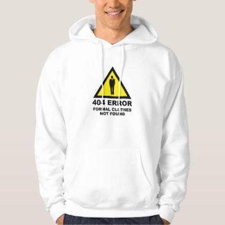 404 roupa formais do erro não encontradas moletom com capuz