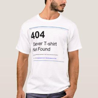 404 - T-shirt inteligente não encontrado Camiseta