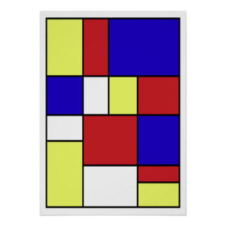 #406 abstrato pôster