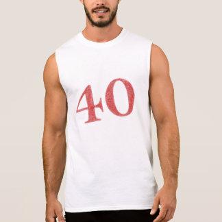 40 anos de aniversário regata