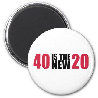40 são o aniversário 20 novo imas
