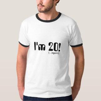 40th Camisa do aniversário do ano