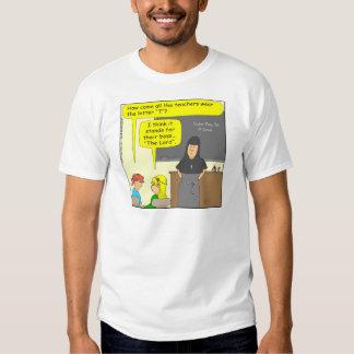 414 os desenhos animados da letra T T-shirts