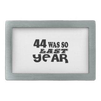 44 era assim tão no ano passado o design do
