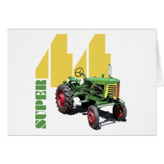 44 super cartão comemorativo