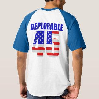 45 deploráveis camiseta