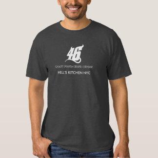 46TH RUA - DISTRITO da COZINHA dos INFERNOS T-shirts