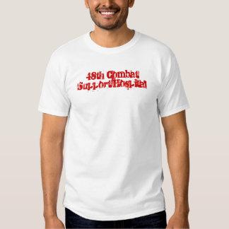 48th Hospital do apoio de combate Camisetas