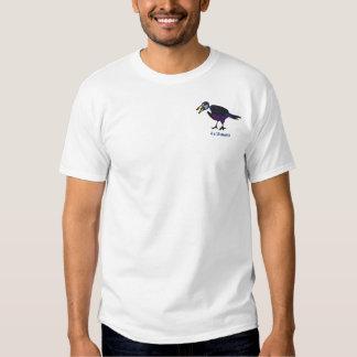 4 & 20 que!?! Bolso da camisa do pássaro Camiseta
