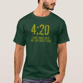 """""""4: Camisa t de 20 pontuações de crédito de"""""""
