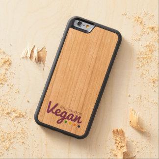 4 caso do iPhone 6/6s do Vegan da estação Capa De Cerejeira Bumper Para iPhone 6