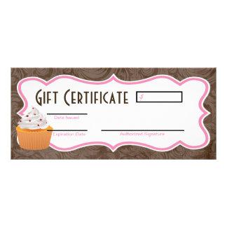 """4"""""""" copo do certificado de presente x9 endurecem o 10.16 x 22.86cm panfleto"""