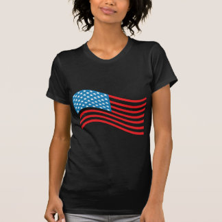 4 de julho bandeira dos EUA T-shirts