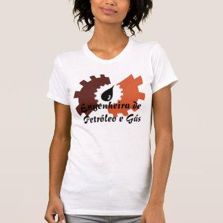4 Engenheira de Petróleo e gás Camiseta