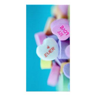 4 NUNCA meu amor Cartao Com Foto