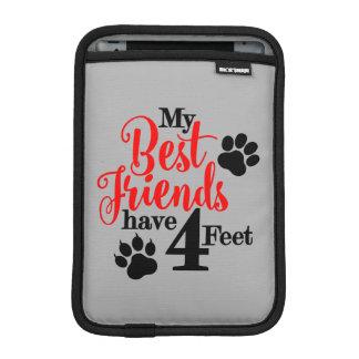 4 pés de melhores amigos capa para iPad mini
