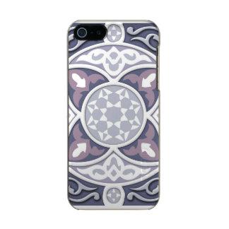 4 sentidos - prata & lavanda capa incipio feather® shine para iPhone 5