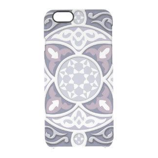 4 sentidos - prata & lavanda capa para iPhone 6/6S clear