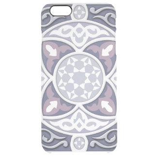 4 sentidos - prata & lavanda capa para iPhone 6 plus clear