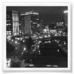 """4"""" x 4"""" impressão de Instagram: Cidade na noite"""
