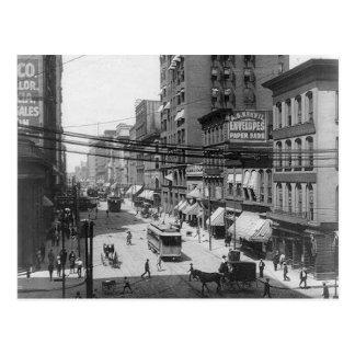 4o cartão de St Louis Missouri da rua 1903