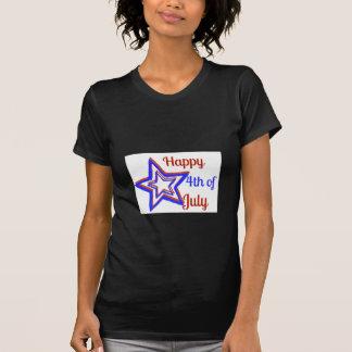 4o da camisa das mulheres de julho