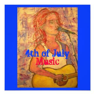 4o da música de julho