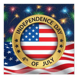 4o do convite do Dia da Independência de julho