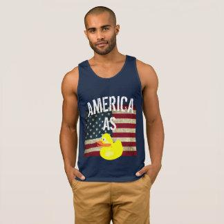 4o julho América como o T engraçado do pato